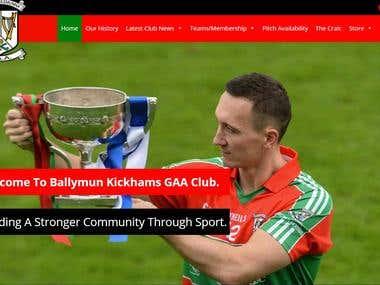 Ballymun Kickams GAA Football Club