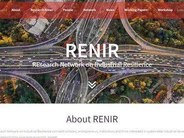 RENIR Website