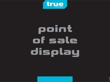 VISUAL DESIGN - point of sale display