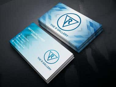 Business card for Gallery