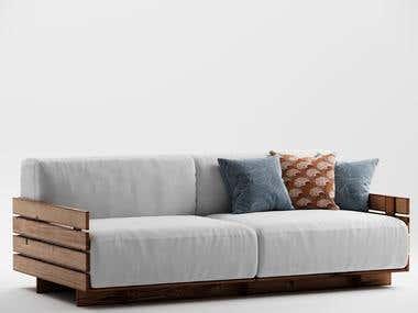 Pallet Sofa Design
