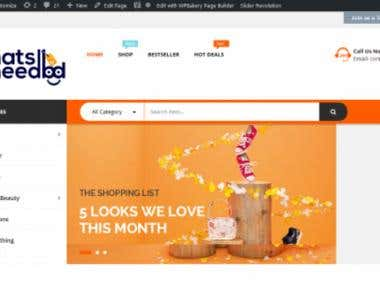 i will build professional amazon affiliate store website wit