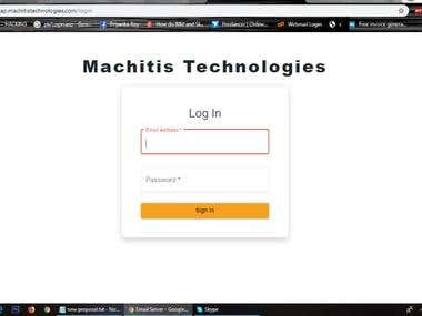 Custom Bulk email sending web application software