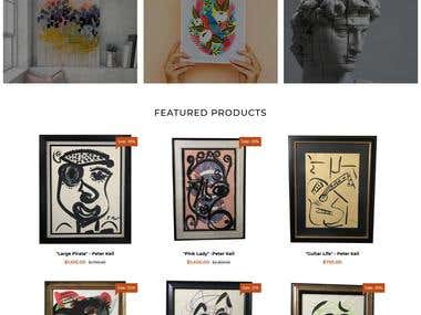 Shopify Website Development and Design