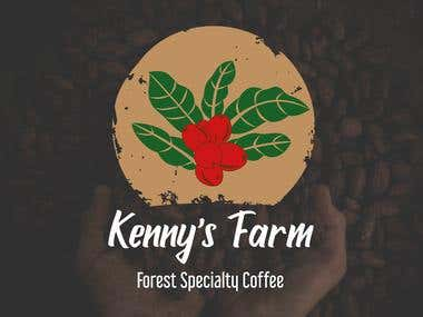 Kenny's Farm Logo Design