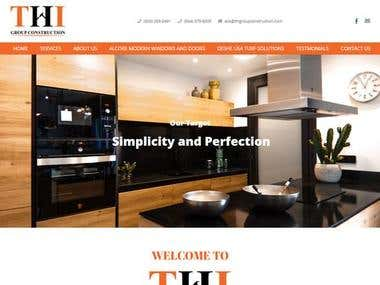 Construction Service Website