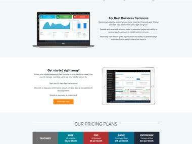 Prezus - Landing Page