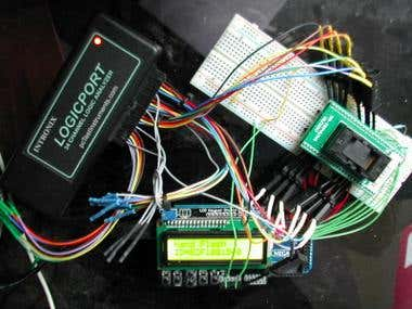 Arduino  Nand Flash interface