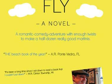 DIVE AND FLY Book cover design