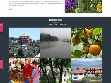 .NET site for regional organization