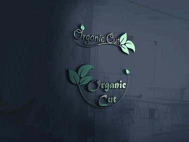 logo design of a company organic cut