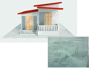 2D sketch to 3D Model