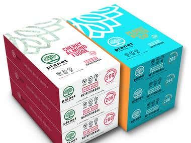 3d Packaging - Protein Bar