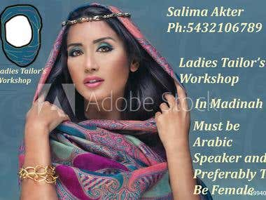 I need a graphic designer in Madinah