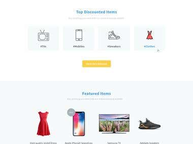 Hashtag.discount Landing Page