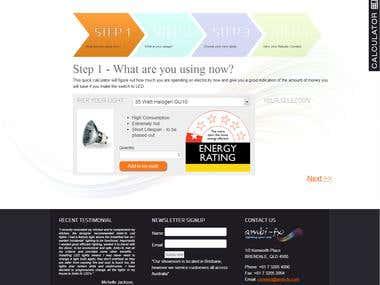 Web using Joomla 3 (RSForm)