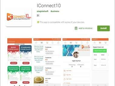 Iconnect10 Android App