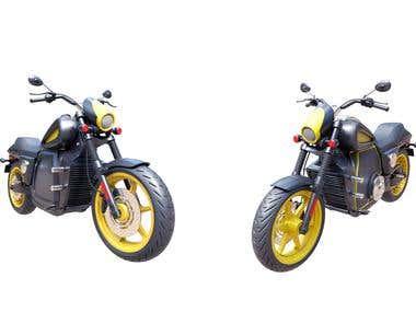 E - bike design
