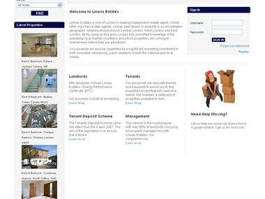 Complex Real Estate Portal