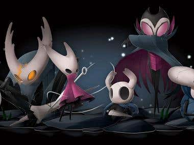 Hollow Knight Fanart