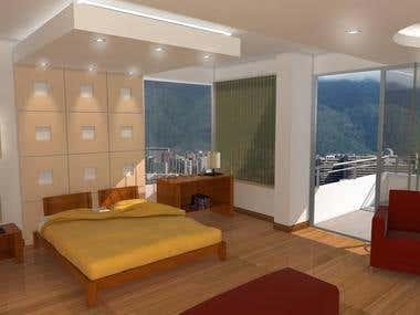 Interior 3d models