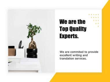 TOP QUALITY EXPERTS