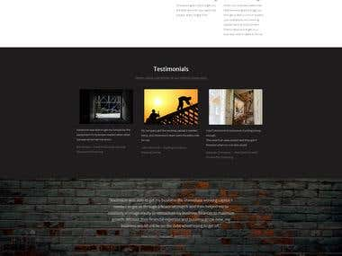Custom Base WordPress Website