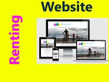 Renting Bikes Website