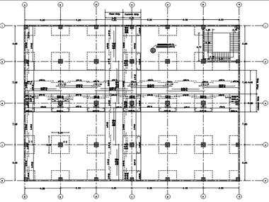 Flat SLab with Reinforcement