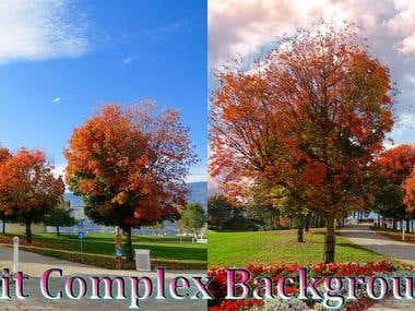 Edit Complex Background