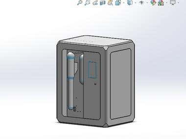 Design of Scientific Instrument using SolidWorks 2019