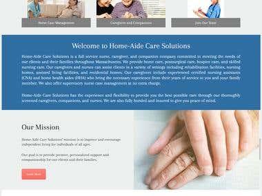 Custom Wordpress website development