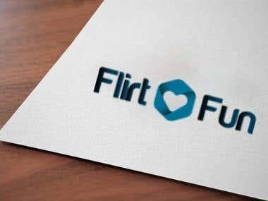 Logo Design - Flirt and Fun