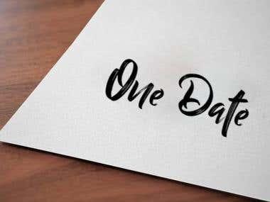 Logo Design - One Date