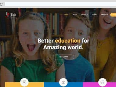 ELearning Web Portal