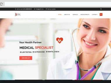Doctors E-booking Website