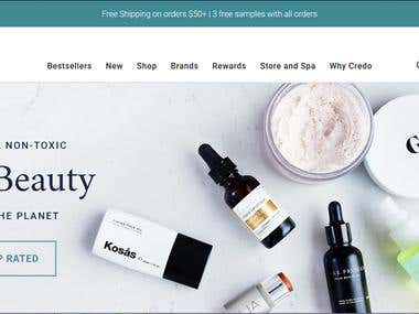 Credo Online Store