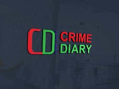 Crime Diary Logo Design