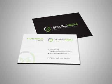 Business Card - Seed Bed Media