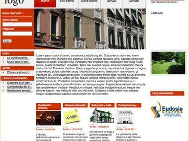 Real estate web site