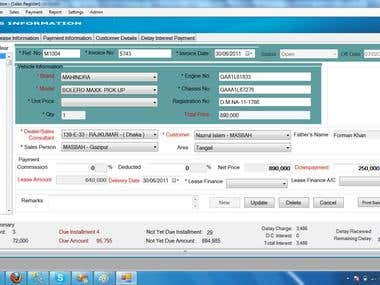 Lease and Finance Management System
