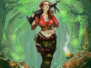 Female Assasin/Soldier