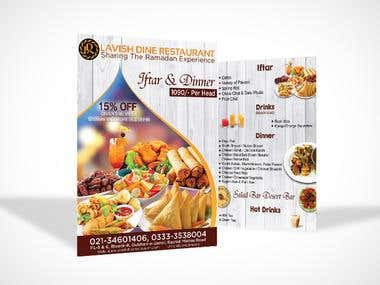 Flyer & Brochure Designing
