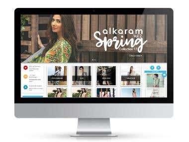 E-Commerce for Clothing