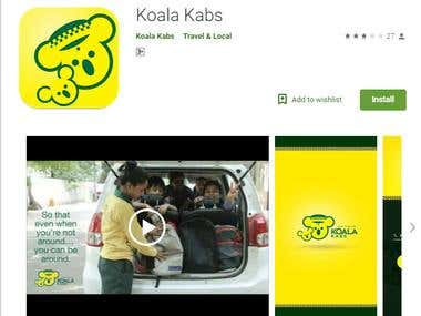 Mobile Application for Cab Services
