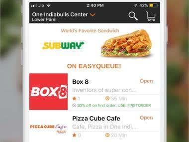 Easy Queue iOS App