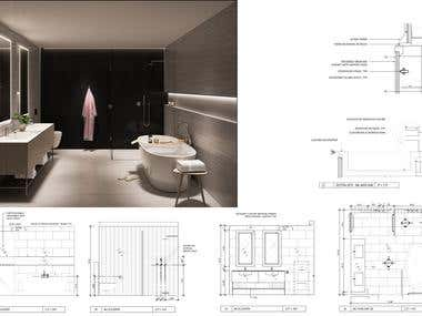 Brief design boards pertaining bathrooms