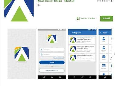 Mobile Application for Group of College