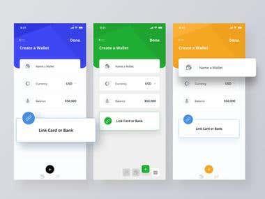 Multiple app designs