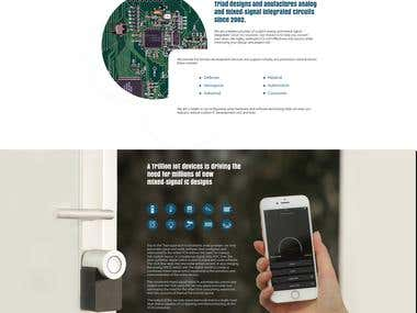 Websiteb Design Analog Solutions Company